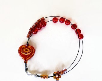 be mine abacus - row counter abacus jewelry for knitters bracelet