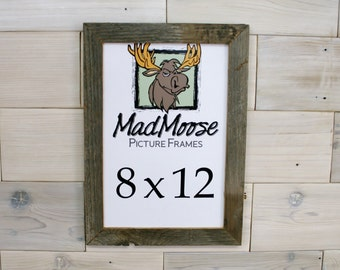 "8x12 Barn Wood [Thin x 1.25""] Picture Frame"