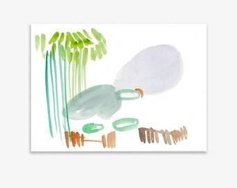 Monet's Garden 11, print on fine art paper