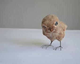 Bird Art Doll. Home Decor. OOAK. Handmade decoration.