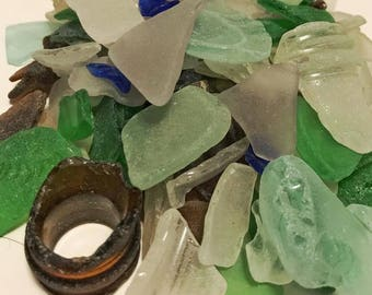 Maine Seaglass, FREE shipping!