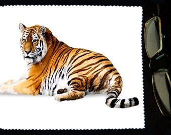 Cloth wipes glasses Tiger model 3