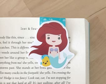 The Little Mermaid Magnetic Bookmark