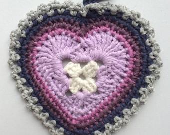 Handmade Heart Coaster, Decoration