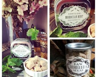 Moroccan Mint Loose Leaf Tea Pair (Organic)