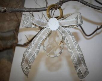 Shabby chic Crystal pendant