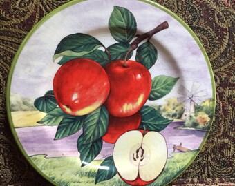 """Villa d'este Apple plate 8 1/4"""""""