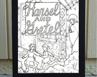 DIGITAL FILE- Hansel and Gretel