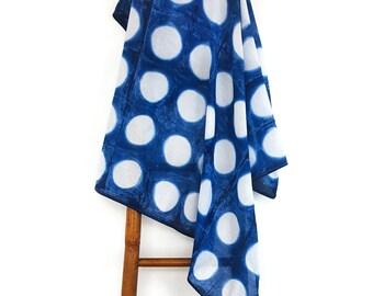 Baby Swaddle Blanket, Muslin Baby Blanket, Swaddle Blanket, Baby Swaddle, Cotton Baby Blanket, Shibori Baby, Hande Dyed Baby Blanket, Indigo