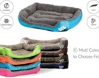 Pet Dog Bed Warming Dog House Soft Material Nest Dog Baskets Fall and Winter Warm Kennel For Cat Puppy Plus size