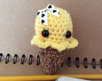 Crochet baby ice cream