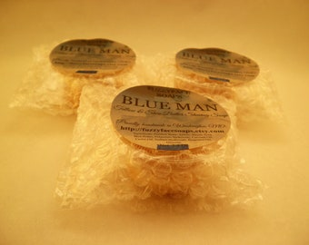 BLUE MAN Tallow & Shea Butter Shaving Soap 1.0 Oz