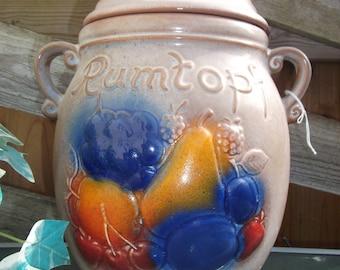"""Retro Scheurich Rumtopf Jar Largest Size 14"""" H"""