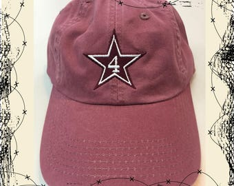 Dak-Star-4 burgundy cap