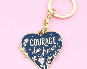 Courage Keychain | Narnia keychain, enamel pin