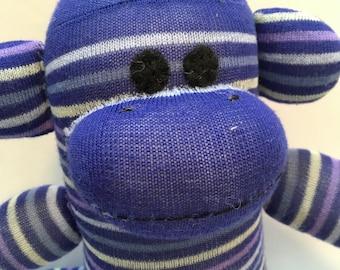 Herman the Baby Friendly Sock Monkey
