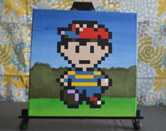 Earthbound Nes Painting