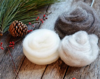 Wool for Needle Felting | Romney