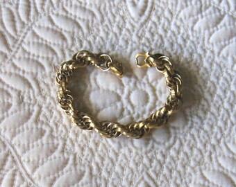 Classic, Vintage MONET Braided Bracelet