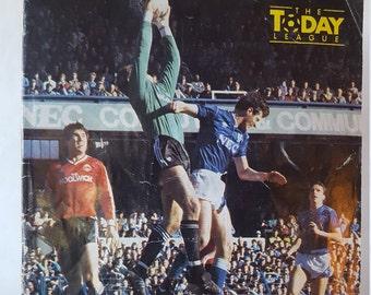 Everton FC Souvenir Program April 11, 1987 vs West Ham