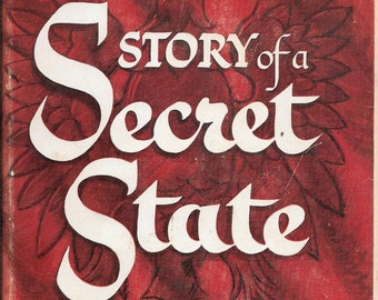 Story of a Secret State by Jan Karski 1944 1st Edition