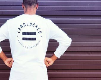 Long sleeve fitted crew-white-bold-equality