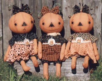 Primitive PATTERN Pumpkin Patooties