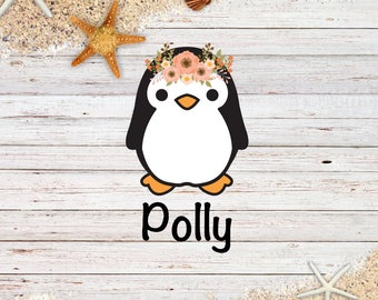Polly Penguin Die Cut