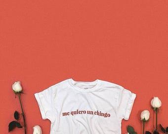 me quiero un chingo I love Myself T-shirt