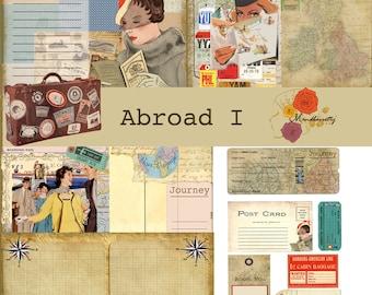 Abroad I (Digital paper)