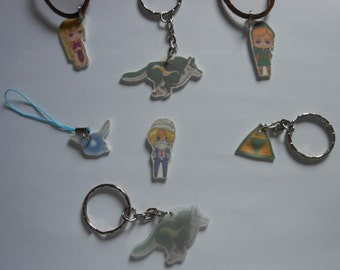 Legend of Zelda inspired Charms