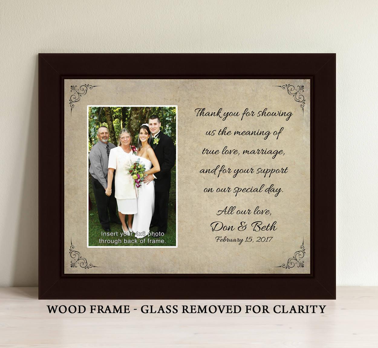 Eltern Hochzeit Geschenk Eltern des Bräutigams