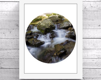 Kaikoura, NZ Stream Photography Printable Art Download