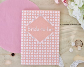 Bride to be Card Engagement cards Wedding card Bridal shower card Hen party card Bride card Card for Bride to be Wedding bride