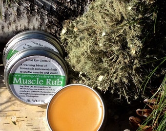 Muscle Rub with Arnica 2 oz.