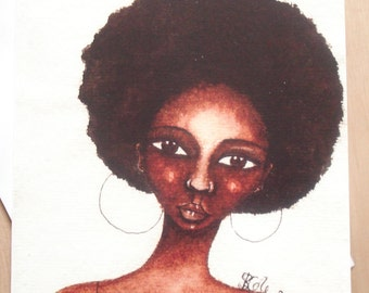 African American 'She Knew' Greeting Card