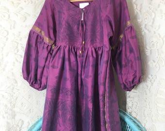Vintage indian dress boho