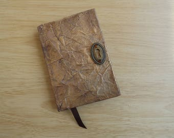 Mock Antique Leather Look Notebook