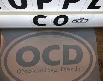 OCD Obsessive Corgi Disorder