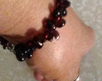 Beautiful Garnet Bracelet