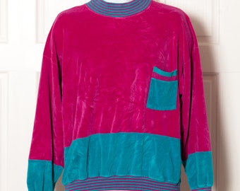 Vintage 80s Colorful Top - BOUNDARY WATERS