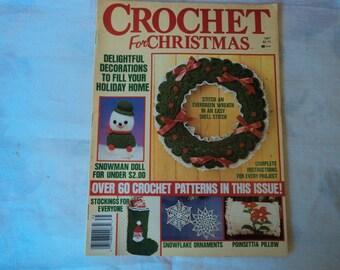 1987 all'uncinetto per Natale Magazine