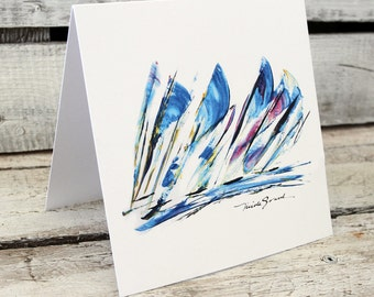 GREAT WINDS greeting card