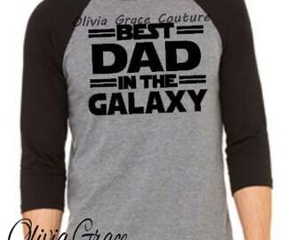 Best Dad in the Galaxy Shirt, Best Dad In The Galaxy Tee, Gift for Dad, Funny Shirt for Dad, Fathers Day Gift, Dad Shirt, Dad Nerd Shirt