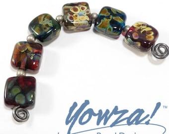 Set of 6 Lampwork Beads