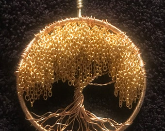 On Sale!  Gold Tree Of Life