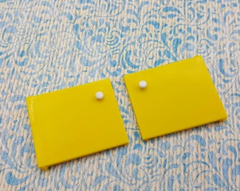 Tomy Smaller House Stove Replacement Doors left and right  Fits 3/4 to 1 inch scale hard  Plastic