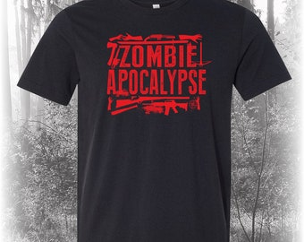 zombies, walking dead shirt, the walking dead, post apocalyptic, halloween, gift for him, gift for men, zombie, gift for dad