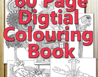 Coloring book 60 pages pdf download