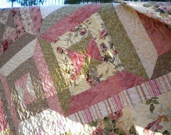 Spring Fever Quilted Throw